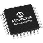 Фото 3/3 ATMEGA328PB-AU, Микроконтроллер, AVR, 8-бит, 20МГц, 32КБ FLASH [TQFP-32]