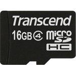 TS16GUSDC4, 16GB microSDHC Class4 (No Box & Adapter)