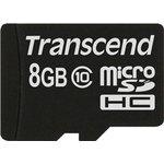 Карта памяти microSDHC TRANSCEND 8 ГБ, 20 МБ/с, 133X ...