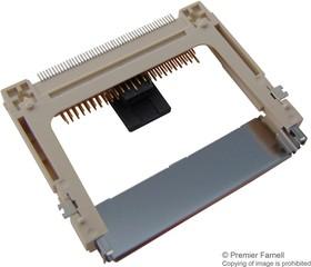 Фото 1/2 N7E50-M516RB-40-WF, Гнездо памяти, CompactFlash типа II, 7E50 Series, Карта Памяти, 50 контакт(-ов), Медный Сплав
