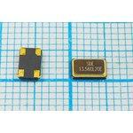 Кварц 13.56МГц в корпусе SMD 5x3.2мм с четырьмя выводами, нагрузка 20пФ ...
