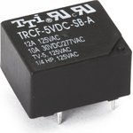 TRCF-24VDC-SB(SD)-A-R, Реле 1зам. 24V / 12А, 125VAC