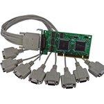 VScom 800H UPCI Low Profile, 8-портовая плата RS-232 на шину ...