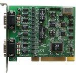 VScom 200I-SI UPCI (uPCI-200Li-Si), 2-портовая плата RS-232/422/485 на шину UPCI с гальванической изоляцией