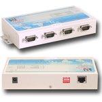 NetCom 411, 4х-портовый асинхронный сервер RS-232 в Ethernet