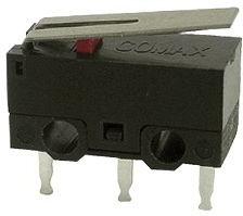 MS-118305-A, Snap Switch,SPDT,0.1A,70g