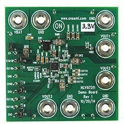 NCV97311MW33GEVB, Triple Buck Regulator 3.3