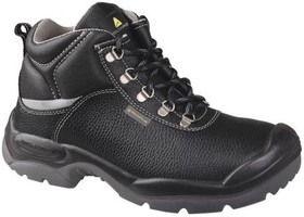 SAUL2S3NO44, SAULT2 S3 Black PUR Toe Safety Boots, UK 10, US 11