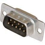 5-747904-2 (747904-2), DB- 9M вилка 9 pin на кабель (пайка)