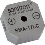 SMA-17LC-P10, 17 мм, Пьезоизлучатель с генератором