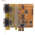 VScom 200Ei PCIex, 2-портовая плата RS-232/422/485 на шину ...