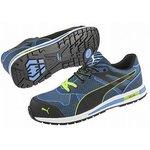 Blaze Knit Low Blue 10, Steel Toe Trainers, UK, US 11