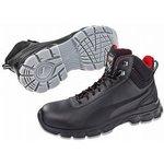 Pioneer Mid Black 11, Steel Toe Boots, UK, US 12