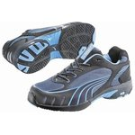 Fuse Motion Womens Blue 4, Steel Toe Women Trainers, UK 4, US 6.5