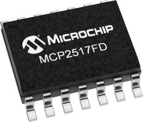 MCP2517FD-H/JHA, CAN FD Controller,8Mbps,S