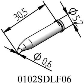 102SDLF06, Наконечник паяльника