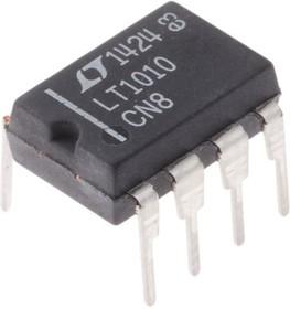 LT1010CN8#PBF, Буферный усилитель, 20 МГц, 75 В/мкс, 4.5В до 40В [DIP-8]