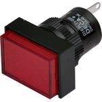 D16PLT1-000GR, Индикатор красный 220В/неон