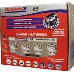 Фото 2/2 tm454 OptiMate 3х4, Устройство зарядное для свинцовых аккумуляторов 12В 4х0.8А