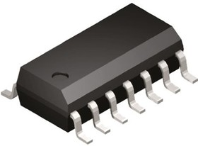 MM74HC04MX, Inverter 6-Element CMOS 14-Pin SOIC N T/R