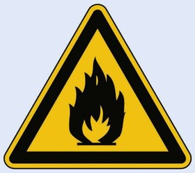 11.0152, SIGN,HIGHLY FLAMMABLE