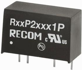R12P215D/P, DC/DC,UnReg,12Vin,+-15Vo