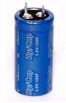 Фото 1/2 VEC3R0107QG, 100 Ф, 3 В, 22x45 (snap in), Ионистор