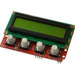 SHIELD-LCD16x2, Arduino совместимая плата с LCD16x2 и кнопками