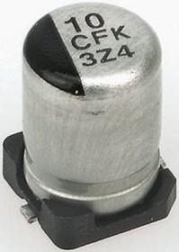 EEEFK1C220R, Cap Aluminum Lytic 22uF 16V 20% (5 X 5.8mm) SMD 160mA 2000h 105C Automotive T/R