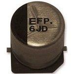 Фото 2/2 EEEFP1E330AP, электролитический конденсатор SMD 33мкФ, 25В 6.3x5.8