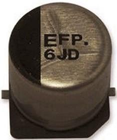 EEEFPC151XAP, Cap Aluminum Lytic 150uF 16V 20% (6.3 X 7.7mm) SMD 0.16 Ohm 600mA 2000h 105C Automotive T/R