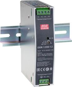Фото 1/2 DDR-120A-48, DC/DC преобразователь, 100.8Вт, вход 9-18В,выход 48В/2.1А
