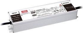 HLG-185H-48, AC/DC LED, 187.2Вт, IP67, 48В/3.9А, блок питания для светодиодного освещения