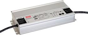 Фото 1/2 HLG-480H-24A, AC/DC LED, 24В,20А,480Вт,IP65 блок питания для светодиодного освещения