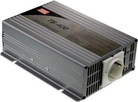 Фото 1/4 TS-400-248B, DC/AC инвертор, 400Вт, вход 48В, выход 230В(преобразователь автомобильный)