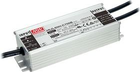 Фото 1/2 HLG-60H-C700B, AC/DC LED, 70Вт, IP67, 50…100В/700мА, блок питания для светодиодного освещения
