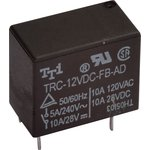 TRC-12VDC-FB-AD, Реле 1зам. 12V / 10A, 28VDC (OBSOLETE)