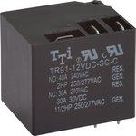 TR91-12VDC-SC-C, Реле электромагнитное силовое