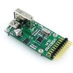 Фото 3/5 USB3300 USB HS Board, USB высокоскоростное PHY устройство для интерфейса ULPI