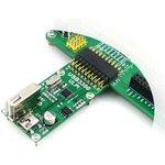 Фото 4/5 USB3300 USB HS Board, USB высокоскоростное PHY устройство для интерфейса ULPI