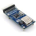 SL811 USB Board, Плата для обеспечения микроконтроллерных ...