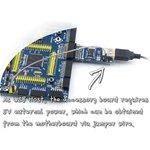 Фото 4/5 SL811 USB Board, Плата для обеспечения микроконтроллерных систем USB HOST портом