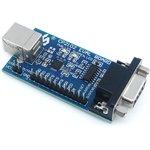 CP2102 EVAL BOARD, Оценочная плата на базе CP2102, USB ...