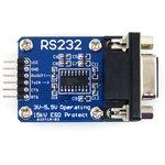 Фото 4/4 RS232 Board, Коммуникационная плата RS232, на базе SP3232, 3-5.5В, ESD защита, аппаратное управление потоком