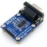 Фото 3/4 RS232 Board, Коммуникационная плата RS232, на базе SP3232, 3-5.5В, ESD защита, аппаратное управление потоком