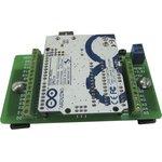 Фото 3/3 Терминальный адаптер для Arduino Uno, Плата расширения для установки контроллера Arduino UNO на DIN рейку