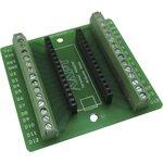 Терминальный адаптер для Arduino nano, Плата расширения для удобного подключения датчиков, устройств систем контроля