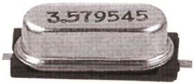 Фото 1/3 FOXSDLF/120-20, Crystal 12MHz ±30ppm (Tol) ±50ppm (Stability) 20pF FUND 60Ohm 2-Pin HC-49/SDLF SMD T/R