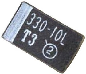 293D226X96R3C2TE3, Cap Tant Solid 22uF 6.3V C CASE 10% (6 X 3.2 X 2.5mm) Inward L SMD 6032-28 1.8 Ohm 125C T/R