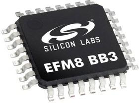 EFM8BB31F16G-B-QFP32, MCU 8-bit EFM8 8051 CISC 16KB Flash 3.3V Automotive 32-Pin QFP Tray